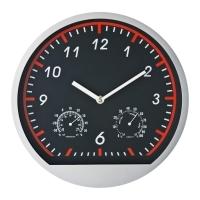 Plastikowy zegar ścienny BAGIO
