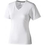 T-shirt damski z dekoltem w serek kawartha