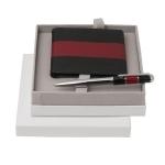 """Zestaw CPBW324 – portfel CLW324 """"Caravage Rouge"""" + długopis CSR3584 """"Caravage Rouge"""""""