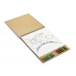 Kolorowanka z notesem MALOVI - Zdjęcie