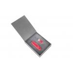 Zestaw upominkowy w kolorze czerwonym: Huntsman+pendrive PQI