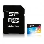 Karta microSD Superior UHS-1 Silicon Power z Adapterem
