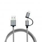 Aluminiowy 1m kabel do transferu danych