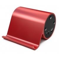 Metalowy głośnik Bluetooth ze stojakiem na telefon
