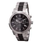 """Zegarek z chronografem """"Alessandro Black"""""""