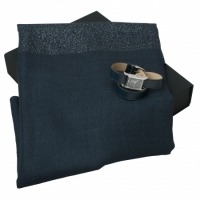 Zestaw zegarek + szal seria Sienna Blue - Silver