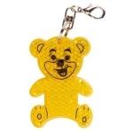 Brelok odblaskowy Teddy, żółty