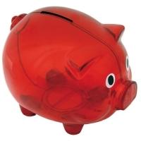 Skarbonka Moneywise, czerwony
