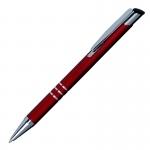 Długopis Lindo, ciemnoczerwony