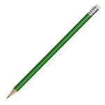 Ołówek drewniany, zielony