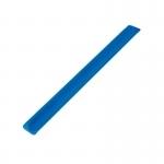 Opaska odblaskowa 30 cm, niebieski