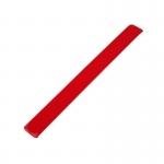Opaska odblaskowa 30 cm, czerwony