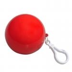 Brelok Raincoat, czerwony