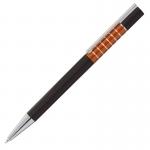 Długopis Moreno, pomarańczowy/czarny