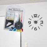 Zegar ścienny -naklejka LUCCA