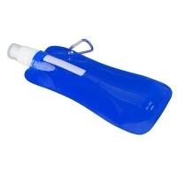 Składany bidon Extra Flat 480 ml, niebieski