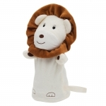 Pacynka Lion, beżowy/brązowy