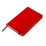 Notatnik 90x140/80k kratka Zamora, czerwony