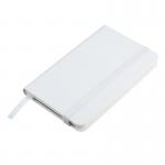 Notatnik 90x140/80k kratka Zamora, biały