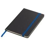 Notatnik 130x210/80k kratka Sevilla, niebieski/czarny