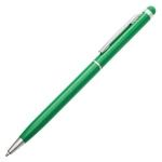 Długopis aluminiowy Touch Tip, zielony