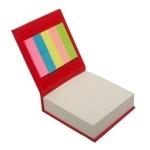 Blok z karteczkami, czerwony