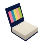 Blok z karteczkami, niebieski
