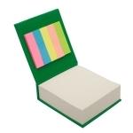 Blok z karteczkami, zielony