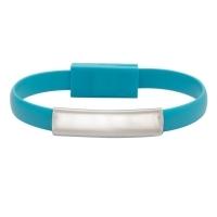 Bransoletka USB Bracelet, jasnoniebieski