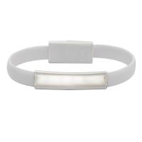 Bransoletka USB Bracelet, biały