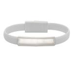 Kabel USB Bracelet, biały