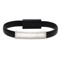 Bransoletka USB Bracelet, czarny