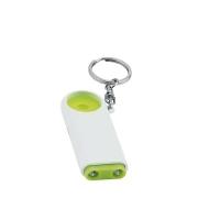 Brelok z 2 światłami LED i żetonem na zakupy
