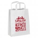 Mała torebka świąteczna z papieru - Zdjęcie