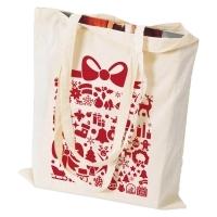 Świąteczna torba bawełniania