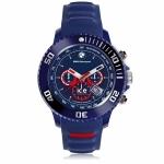 Zegarek BMW Motorsport silicone-Dark blue and red-Big