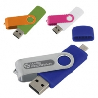 Pendrive z micro USB i USB (10023mc) 64GB