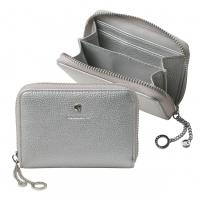 Mini wallet Beaubourg Chrome