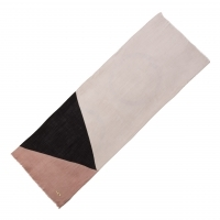 Scarf Beaubourg Pink and Black
