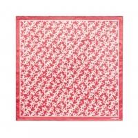 Silk scarf Hirondelle Corail