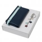 Zestaw CPKL514 - brelok CAK515 Blossom + portmonetka CEL514 Tourbillon Bleu