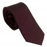 Silk Tie Uomo Burgundy