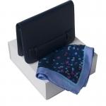 Zestaw CPMW528 - Apaszka CFM514 + Torebka na ramię CTW528 Blossom Bleu