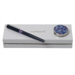 Zestaw CPHR514 - wieszak na torebkę CAH515 Blossom + pióro kulkowe CSI5145 Blossom Bleu