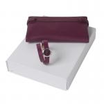 Zestaw CPLM578 -  portmonetka CEL513 Tourbillon Bordeaux + zegarek CMN578 Blossom Bordeaux