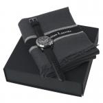 Zestaw LPEM570 - wełniany szal LFE536 Ruby + zegarek LMK570 Chronograph Instant