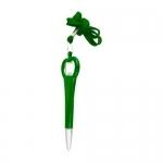 Plastikowy długopis z otwieraczem 2-w-1 FARO - Zdjęcie