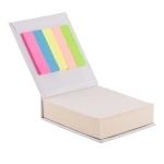 Blok z karteczkami, biały