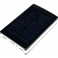 Power Bank Solarny 8000 mAh  (zewnętrzny akumulatorek)
