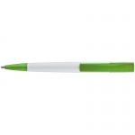 Plastikowy długopis z szerokim klipem